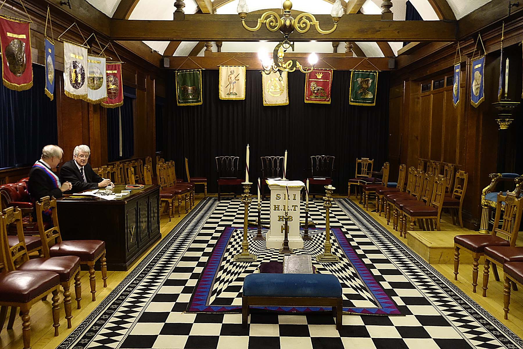 Grand Superintendent Becomes First Principal Of Chapter of Probity