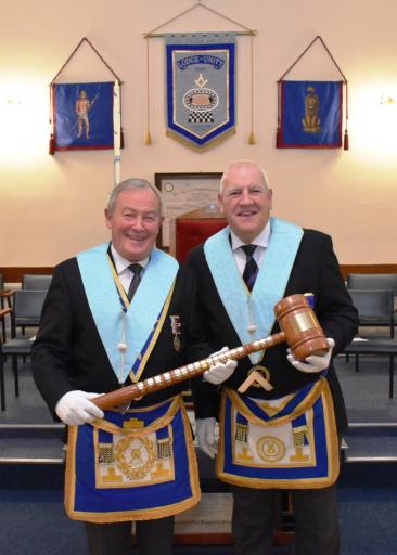 WM, Founder WM, and Travelling Gavel